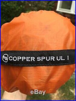 Big Agnes Copper Spur UL1 Tent With Footptint