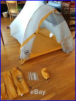Big Agnes Fly Creek HV UL2 with Footprint USED ONCE EXCELLENT CONDITION