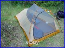 Big Agnes Fly Creek HV UL 2 Person Ultralight Tent with footprint! (Retail $350)