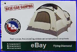 Big Agnes Flying Diamond 4 Person Free Standing 4 Season Tent