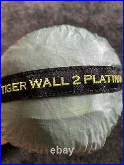Big Agnes Tiger Wall UL2 Platinum Brand New