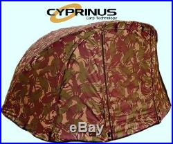 Brand New Cyprinus CAMO4 Compact Carp Fishing Camou Overwrap Wrap fits Aqua DPM3