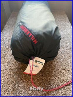 Brand New Hilleberg Jannu 2 Person Mountaineering Tent Green Never Opened
