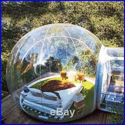 Brand New Stargaze Outdoor Single Tunnel Inflatable Bubble Camping Tent +US Plug