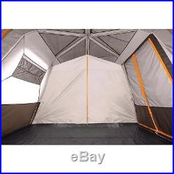 Bushnell 12 Person 3 Room Instant Cabin Large Family Tent Outdoor Hiking Camping