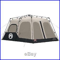 COLEMAN 8-Person 2-Room 14'x10' INSTANT TENT Waterproof Walls New 2000018295