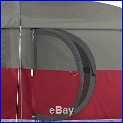 COLEMAN Family Camping Cabin Tent with WeatherTec 13' x 7