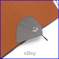 CORE Equipment 6 Person 11' x 9' Dome Camping Tent Orange/Grey 40003