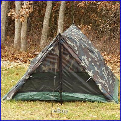Camouflage 2-Man Emergency Survival Bug Out Tent FREE SHIPPING
