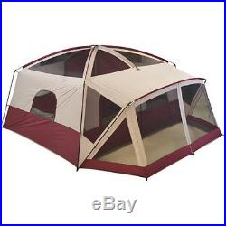 Camping Cabin Tent With Screen Porch 12 Person Outdoor Family Hiking Camp Sports