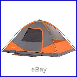 ff3302b22cc6 Camping Equipment Family Cabin Set 4 Person Tent Sleeping Bag Chairs Hiking  Gear