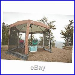 Camping Hex Instant Screened Canopy Tent Shelter withCarry Bag 12' x 10