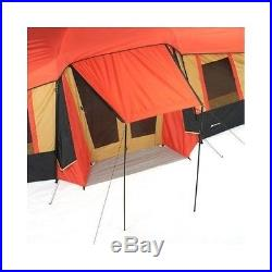 Camping Tent 10 Person 3 Room Outdoor Cabin Hiking Canopy Family Portable Camp