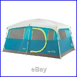 Camping Tent 8 Person Coleman Outdoor Instant Tents Black