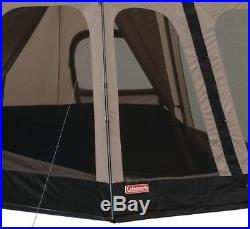 Camping Tent Coleman 8-Person Outdoor Instant Tents Black (14x10 Feet)
