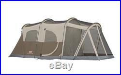 Camping Tent Hiking Outdoor Family 6 Person 2 Room Cabin Waterproof Coleman NEW