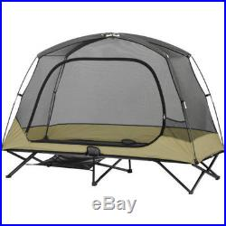 Camping Tent One Person Cot Outdoor Traveling Hiking Beach Sun Shade Solo Canopy