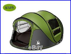 Camping Tent Outdoor Shelter 4 Person Hiking Waterproof Tent Family Room Instant