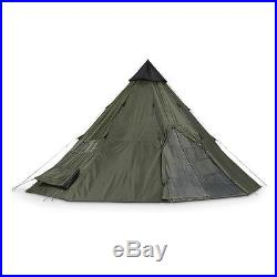 Camping Tent Teepee Tipi XL 12 Person Heavy Duty Waterproof Outdoor Hiking