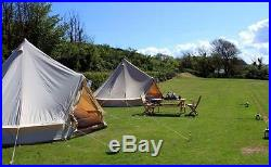 CanvasCamp Sibley 500 Ultimate canvas bell tent