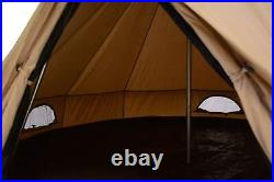 Canvas Bell Tent 2.5 M Mini Regatta Glamping Camping Bell Tent Lightweight