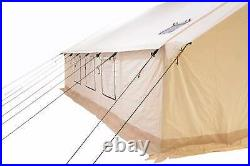 Canvas Wall Tent 16'x20' withAluminum Frame, Water repellent for Outfitter & Winter