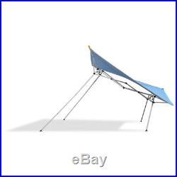 Caravan Canopy EvoShade 8 x 8 Ft. Instant Lightweight Folding Shade Canopy, Blue