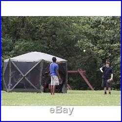 Clam Quick Set Escape Portable Camping Outdoor Gazebo Canopy Shelter Screen