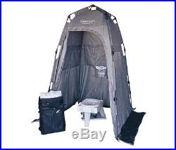 Cleanwaste Go Anywhere Complete Portable Toilet System, Grey, D115SYB