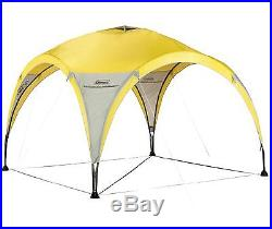 Coleman 2-for-1 All Day 4 Person C&ing Dome Shelter Tent with Canopy  sc 1 st  C&ing Tents & Coleman 2-for-1 All Day 4 Person Camping Dome Shelter Tent with ...