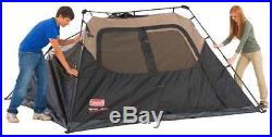 Coleman 6-Person Instant Cabin Easy Resistant Camping Family Tent Top Quality