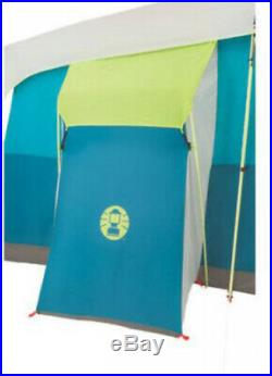 Coleman 8 Person Cabin Tent with Closet Tenaya Lake Fast Pitch Camping Equipment