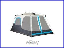 Coleman 8 Person Camping Instant Cabin Tent with Mini Rain Fly 2000015672