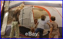 Coleman 8 Person Instant 2 Room Mountain Cabin Camping Tent 13' x 9' Hinged Door