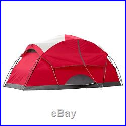 Coleman 8-person Tent Waterproof Weathertec Instant Camping Hiking Outdoor