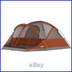 Coleman EvanstonT 4 person 9' x 7' Easy setup with Screened Room FREE SHIPPIN