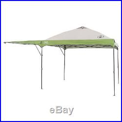 Coleman Instant Straight Canopy with Swing Wall, Green, 16