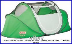 Coleman Pop-Up Tent, 2 Person 187460 2000014781