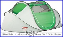 Coleman Pop-Up Tent, 4 Person 187449 2000014782