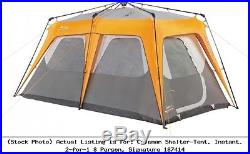 Coleman Shelter-Tent, Instant, 2-for-1 8 Person, Signature 187414 2000014336