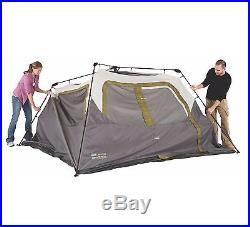 Coleman Signature 4 Person Family Camping Instant Cabin Tent with Rainfly 8 x 7