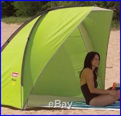 Coleman Sun Shade Shelter Beach Canopy Outdoors Camping Portable Instant Tent
