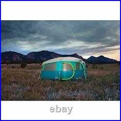 Coleman Tenaya Lake Fast Pitch 8 Person Cabin Tent with Closet Blue