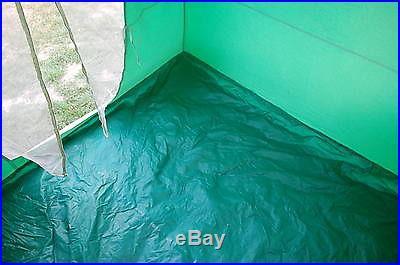 Coleman Vintage 9x9 Canvas Umbrella Tent in excellent condition
