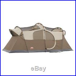 Coleman WeatherMaster 10 Person 2 Room Outdoor Family Camping Tent 17 x 9