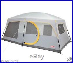 Coleman WeatherMaster II Screened 10-person Tent New