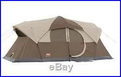 Coleman Weathermaster 10-Person, 2-Room Dome Camping Tent, Free Shipping, New