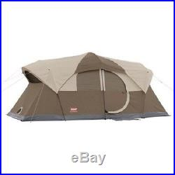 Coleman Weathermaster 10-Person Outdoor Camping Instant Shelter Cabin Dome Tent