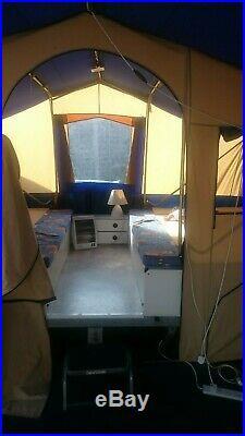 Conway Classic Trailer Tent 8 berth