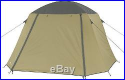 Cot Tent 2 Person Camping Hunting Padded Floor Elevated Gear Storage Rain Fly
